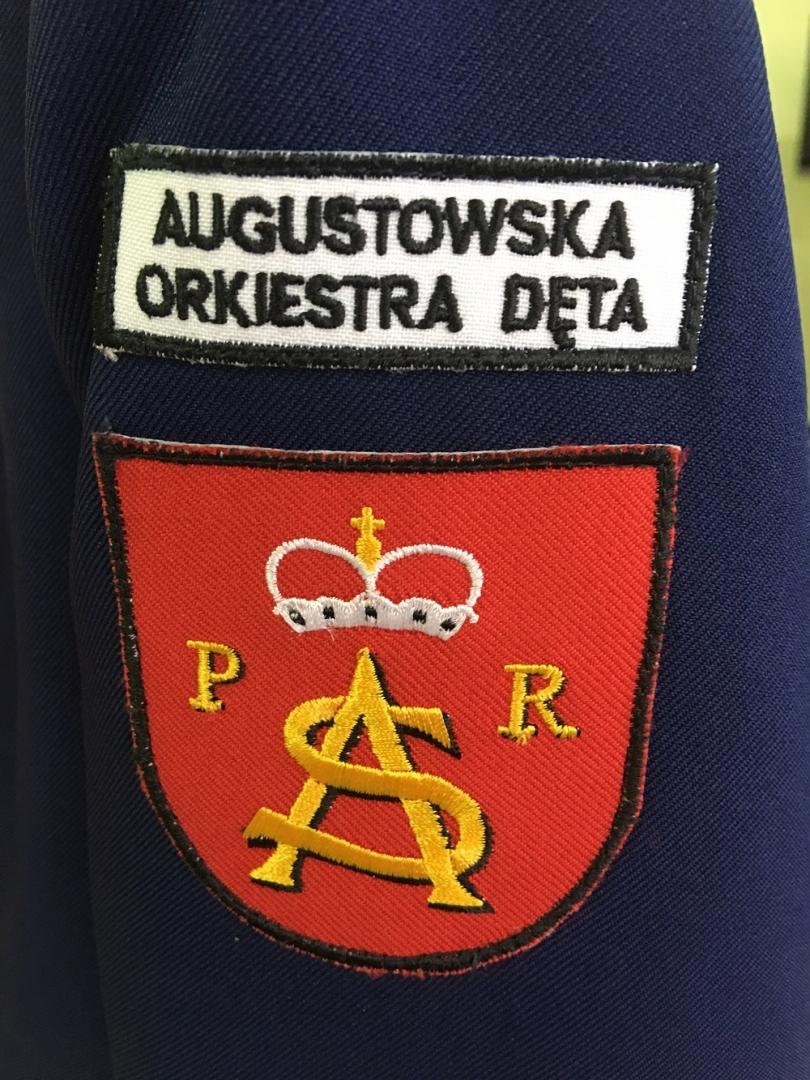 Mundurek dla Augustowskiej Orkiestry Dętej