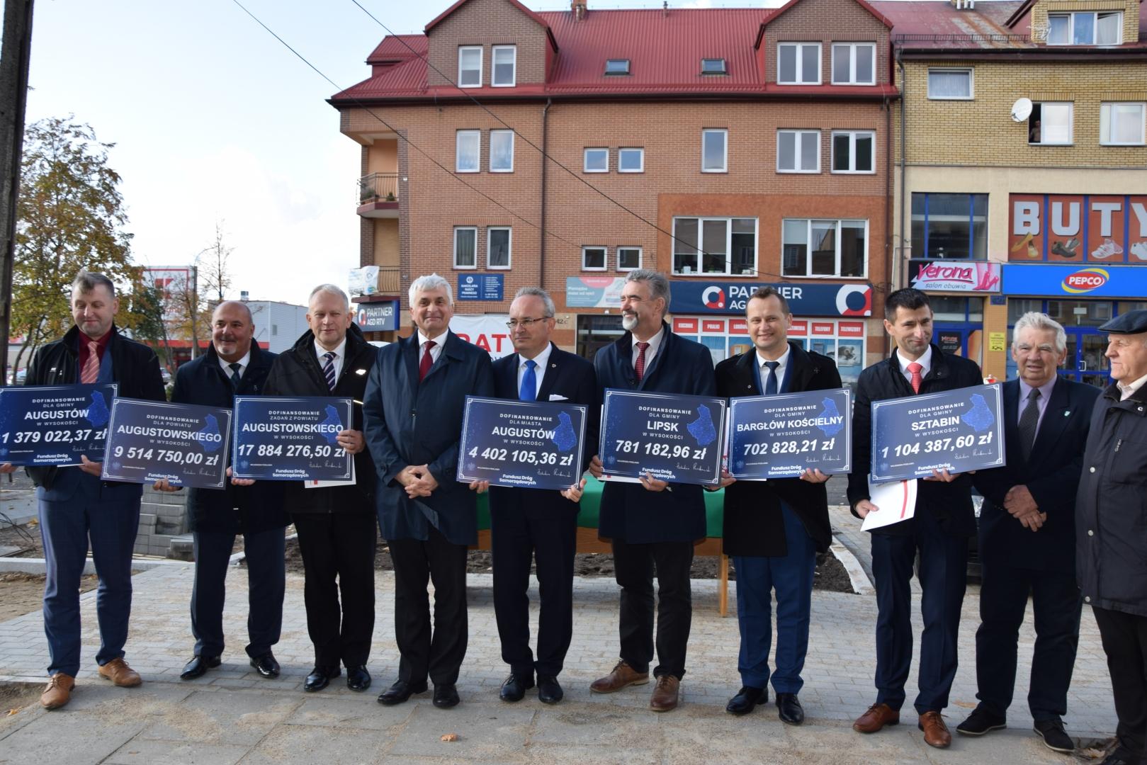 Dotacje na remonty dróg w powiecie Augustowskim