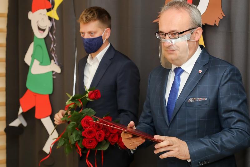 Wręczenie Nagrody Burmistrza Augustowa nauczycielom