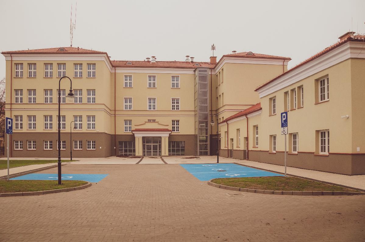 """,,Termomodernizacja i adaptacja budynku przy ul. Młyńskiej 35 na potrzeby Urzędu Miejskiego w Augustowie"""""""