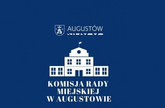 Grafika Posiedzenie Komisji Rady Miejskiej w Augustowie