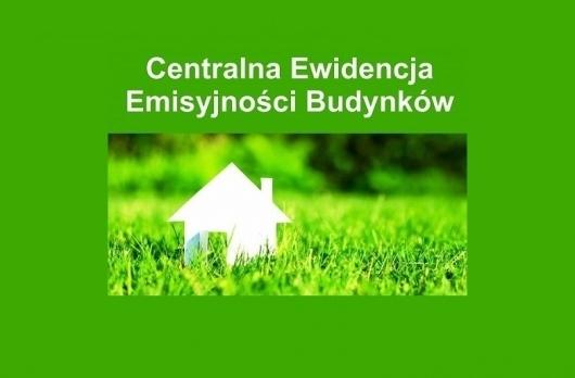 Grafika Centralna Ewidencja Emisyjności Budynków (CEEB)
