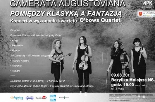 """O'bows Quartet """"Pomiędzy klasyką a fantazją"""""""