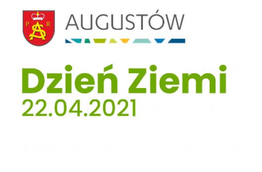 Grafika -logo Augustowa Dzień Ziemi 22.04.2021