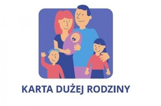 Grafika  Karta Dużej Rodziny