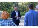 Burmistrz spotkał się z mieszkańcami ulicy Limanowskiego, aby podjąć dalszą dyskusję  ws. opłaty adiacenckiej.