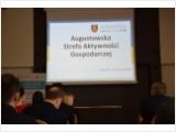 """Konferencja """"FORMY WSPARCIA PRZEDSIĘBIORCÓW"""" w Augustowie"""