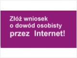 Wniosek o dowód osobisty przez internet