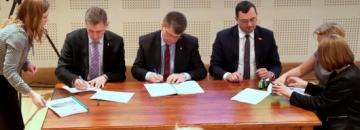 Zarząd Województwa podpisał umowy z lokalnymi grupami działania i lokalną grupą rybacką_ Fot. Wrota Podlasia
