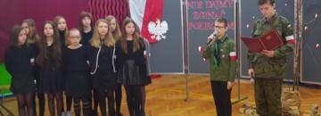 Obchody Narodowego Dnia Żołnierzy Wyklętych w Szkole Podstawowej nr 2