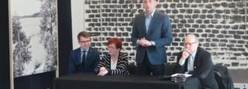 Spotkanie burmistrza Augustowa ze środowiskiem osób niepełnosprawnych