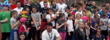 Uroczyste otwarcie boiska wielofunkcyjnego w Augustowie