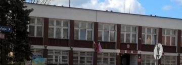 Widok na bbudynek Urzędu Miejskiego