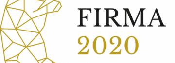 Grafika Dobra firma 2020 INWESTOR, znak graficzny niedźwiedzia