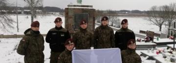 Uczestnicy VIII Marszu Szlakiem Powstańców Styczniowych, Fot. płk P.O.W. Piotr Augustynowicz