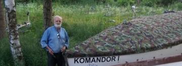 """Komandor Klubu Żeglarskiego """"August"""""""
