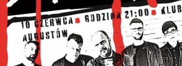 Plakat   koncertu zespołu Dr Misio- 10 czerwca godz. 21 00 klub Iskra w Augustowie