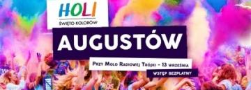 Holi Święto Kolorów zawita do Augustowa