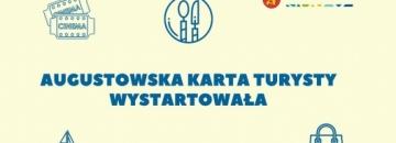 Grafika Zwiedzaj i wypoczywaj z Augustowską Kartą Turysty!