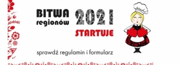 Grafika Bitwa regionów 2021 startuje sprawdź regulamin i formularz