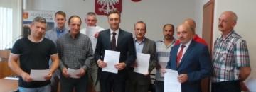 Podpisanie umowy na przebudowę dróg miejskich