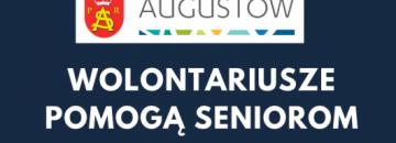Augustowski Zespół Wolontariuszy pomogą seniorom w codziennych czynnościach. Osoby starsze są szczególnie narażone na koronawirusa. Przeczytaj!