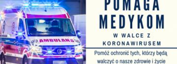 Burmistrz Mirosław Karolczuk uruchomił zbiórkę na rzecz medyków! Dowiedz się więcej!