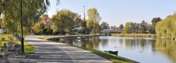 Zdjęcie Bulwary nad Kanałem Bystrym w Augustowie fot. Jadwiga Koniecko