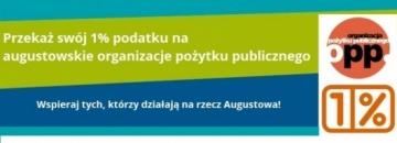 Wspierajmy augustowskie organizacje pożytku publicznego