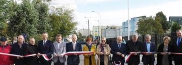 Otwarcie ulicy Hożej i Licealnej