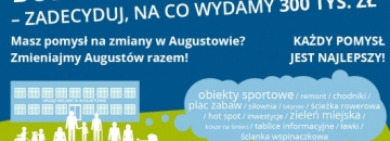 plakat Augustowski Budżet Obywatelski