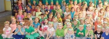 Pierwszy dzień wiosny w Przedszkolu Nr 4 w Augustowie