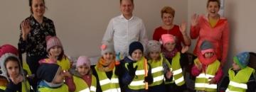 Wiosenna wizyta przedszkolaków w Urzędzie Miejskim!