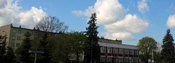 Rondo przy Urzędzie Miejskim w Augustowie