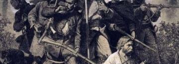 """Zaproszenie Stowarzyszenie """"Polska Organizacja Wojskowa"""" serdecznie zaprasza na 158. rocznicę wybuchu Powstania Styczniowego"""